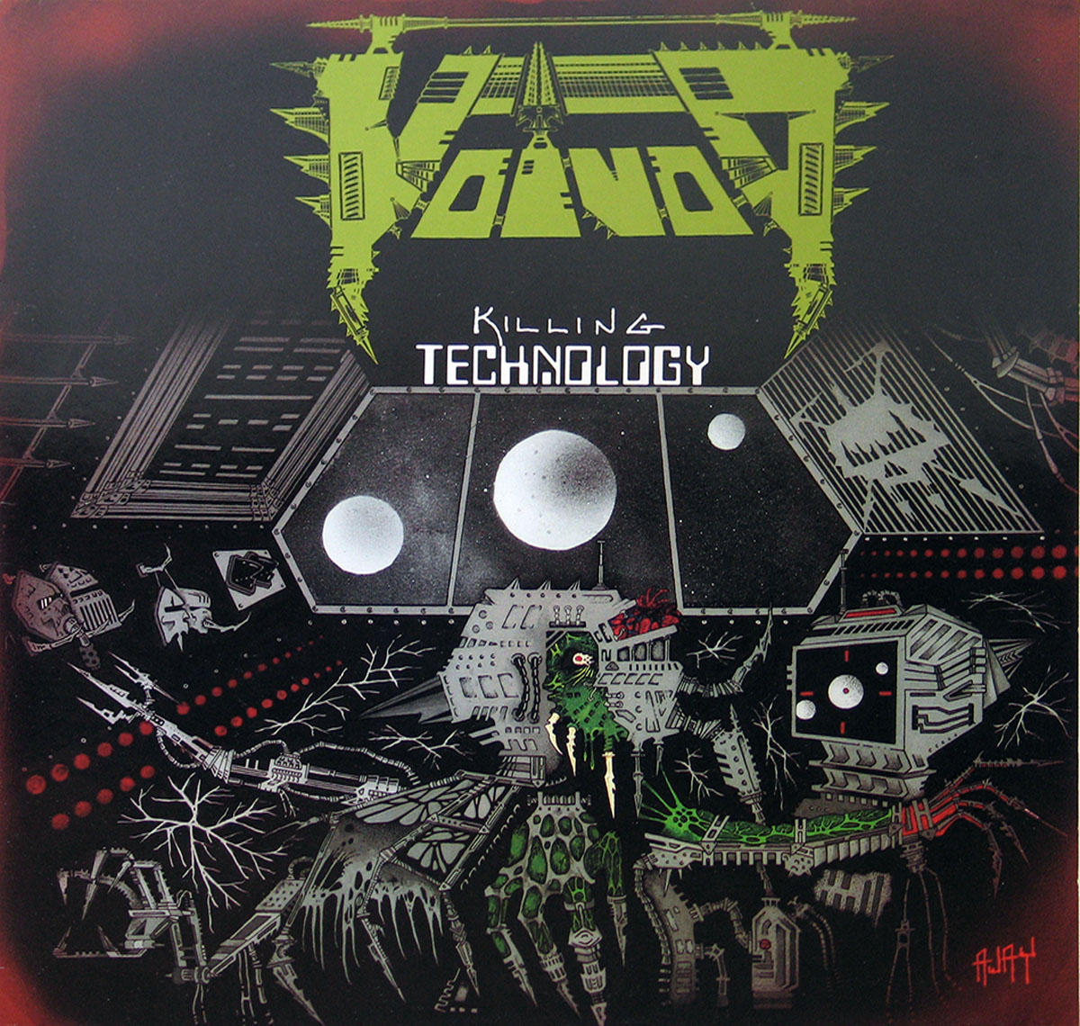 High Resolution Photo #1 VOIVOD Killing Technology
