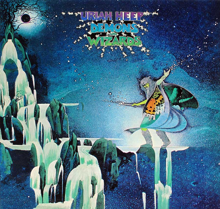 Uriah Heep Demons And Wizards Gatefold Album Cover Album Cover Gallery Information Vinylrecords
