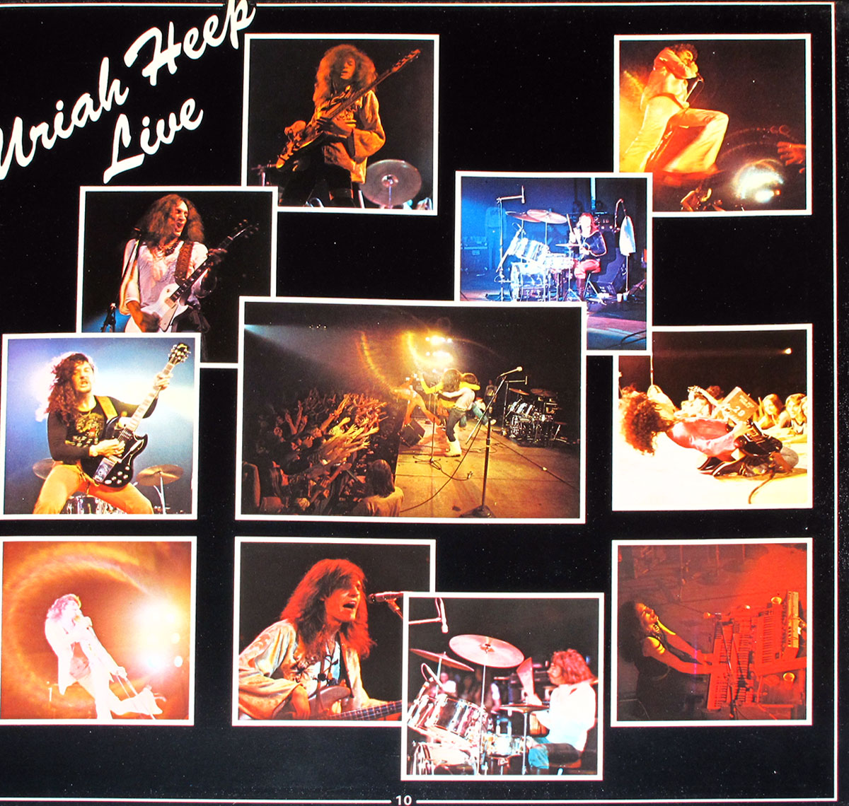 High Resolution Photos of uriah heep live 1973 germany