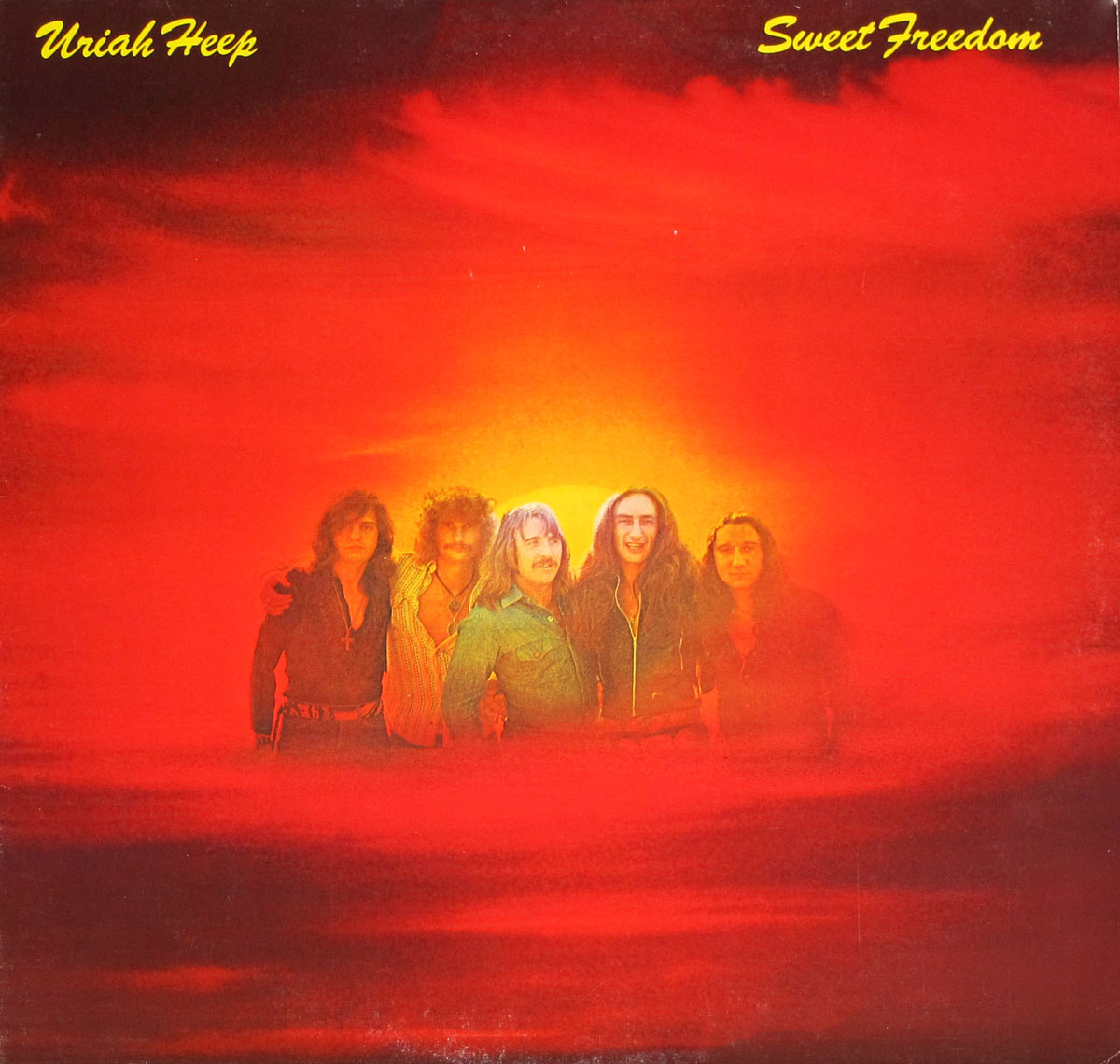High Resolution Photos of uriah heep sweet freedom bronze