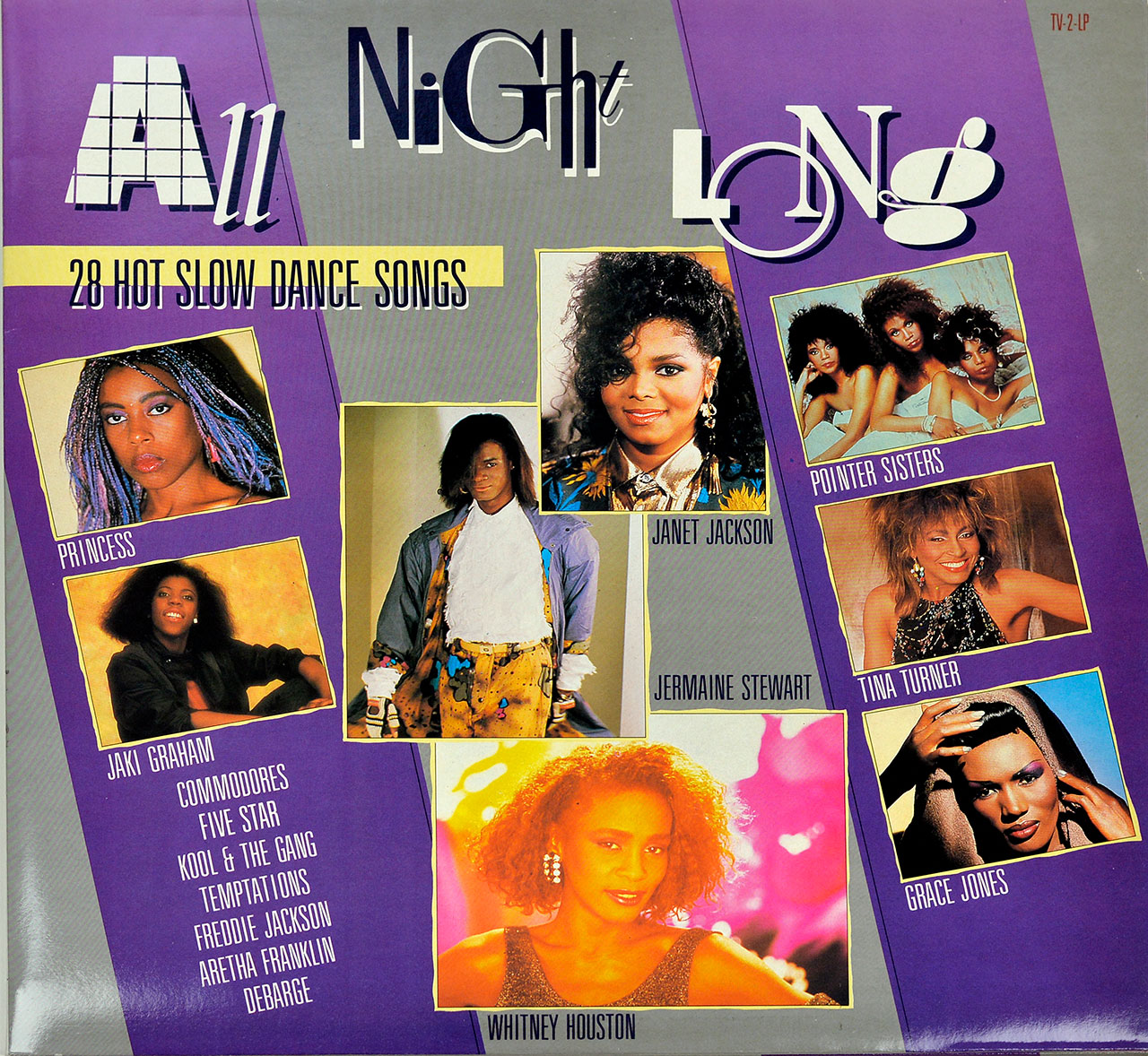 Album Front Cover Photo of VARIOUS ARTISTS - All Night Long