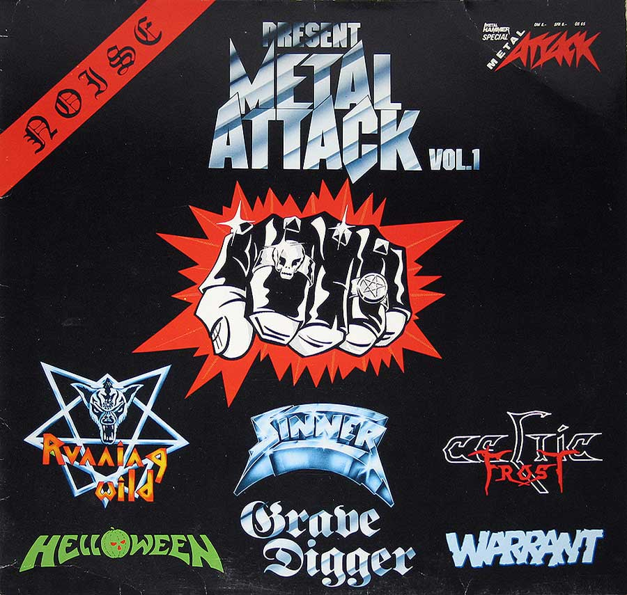 High Resolution Photo #1 various metal attack vol1