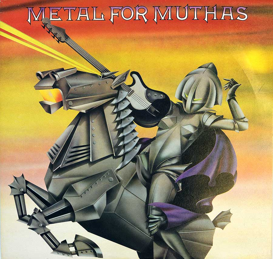 "Front Cover Photo Of VARIOUS ARTISTS - Metal for Muthas Iron Maiden NWOBHM 12"" LP ALBUM VINYL"