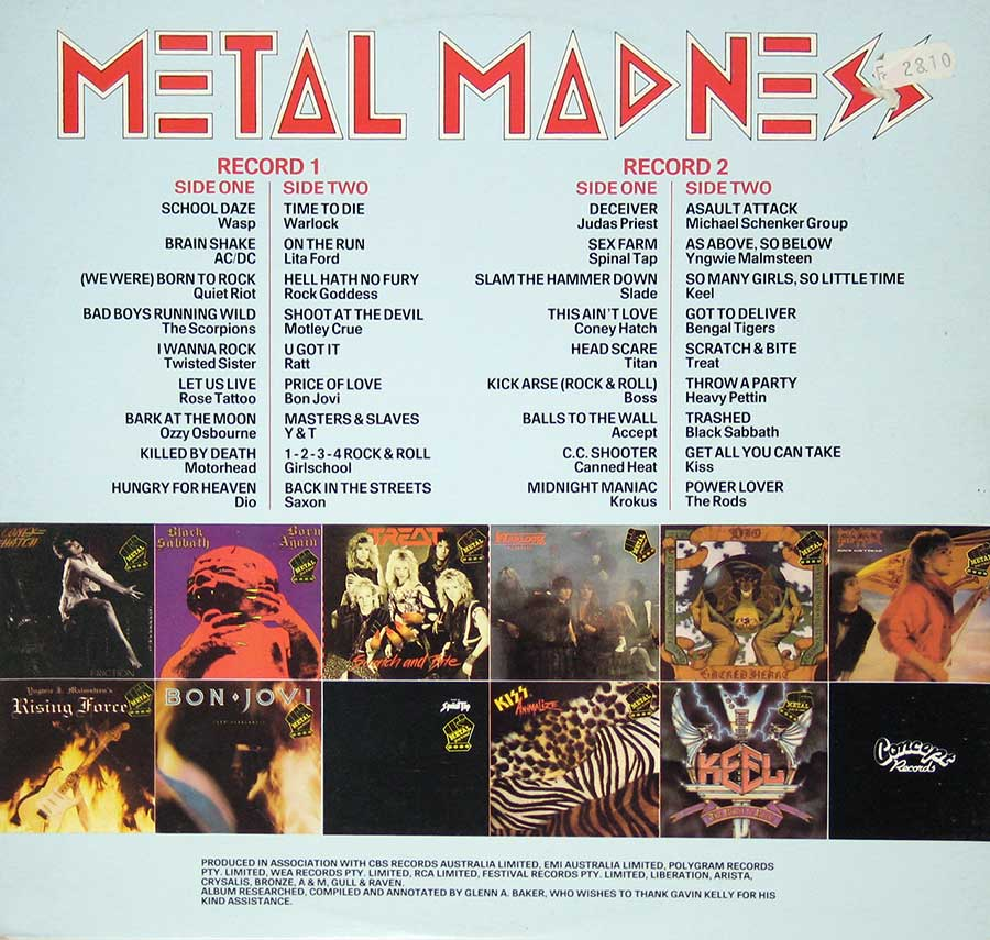 High Resolution Photo #11 METAL MADNESS