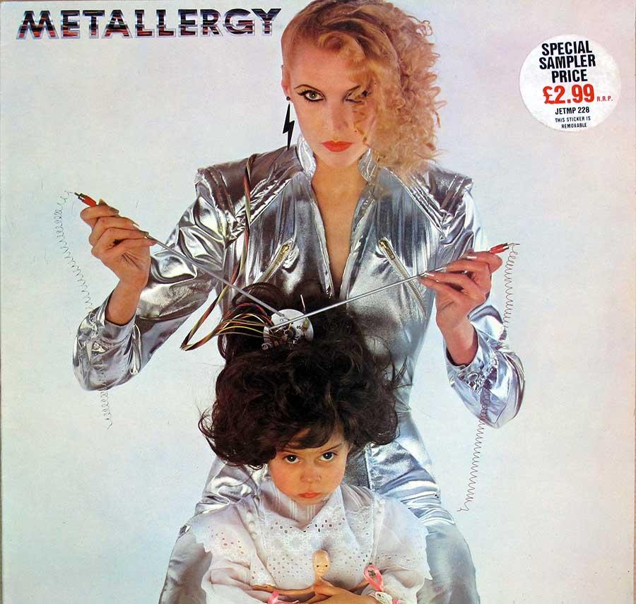 "VARIOUS ARTISTS Metallergy Orig UK 12"" LP VINYL ALBUM front cover https://vinyl-records.nl"