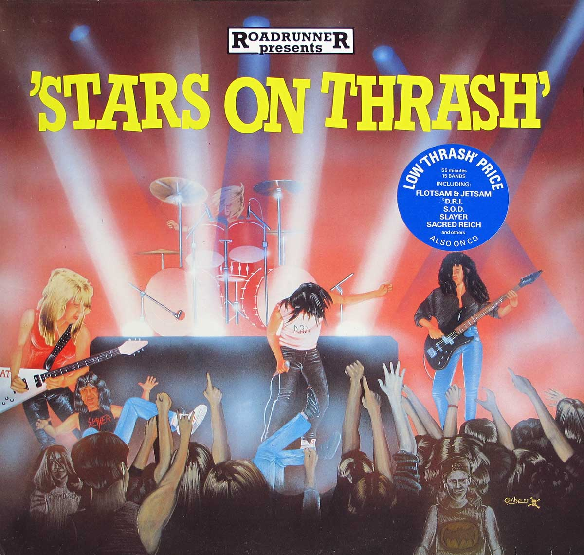 large photo of the album front cover of: VARIOUS - Stars On Thrash Slayer