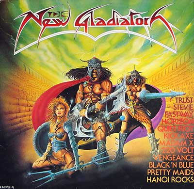 Picture Of  VARIOUS ARTISTS - New Gladiators Heavy Metal Compilation album front cover