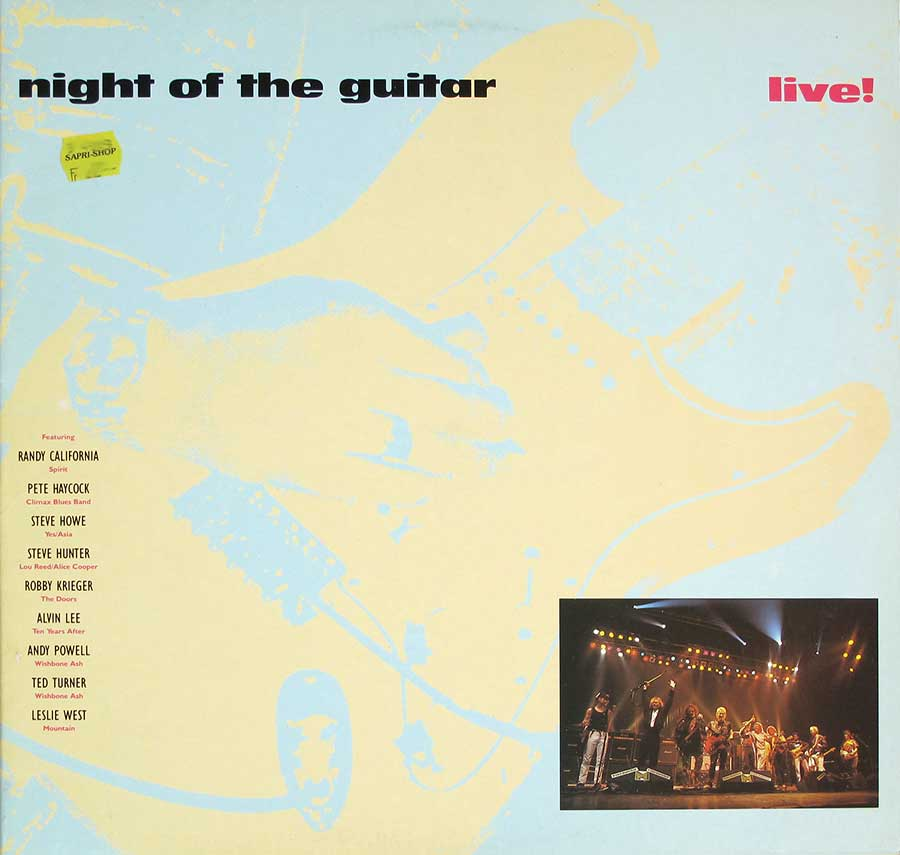 Front Cover Photo Of NIGHT OF THE GUITAR 2LP