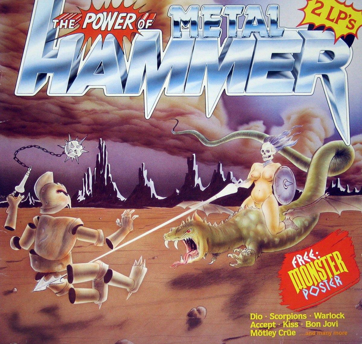 High Resolution Photo The Power of Metal Hammer Vinyl Record