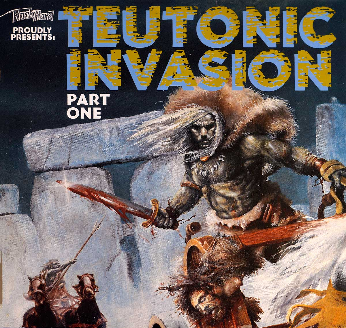 large photo of the album front cover of: Teutonic Invasion